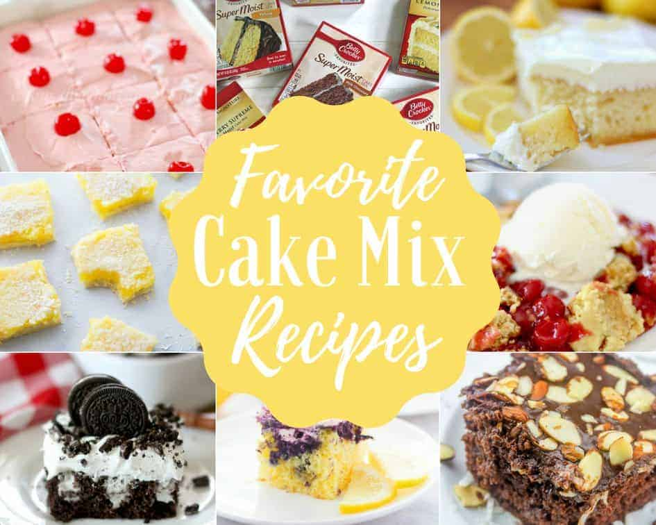 The Best Cake Mix Recipes