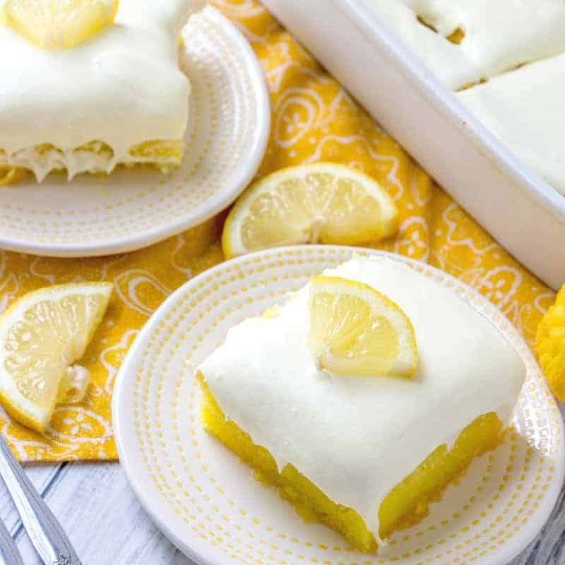 Lemon Dream Cake Country Cook