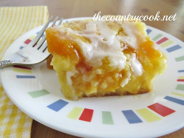 Easy Peach Cobbler Recipes Using Cake Mix