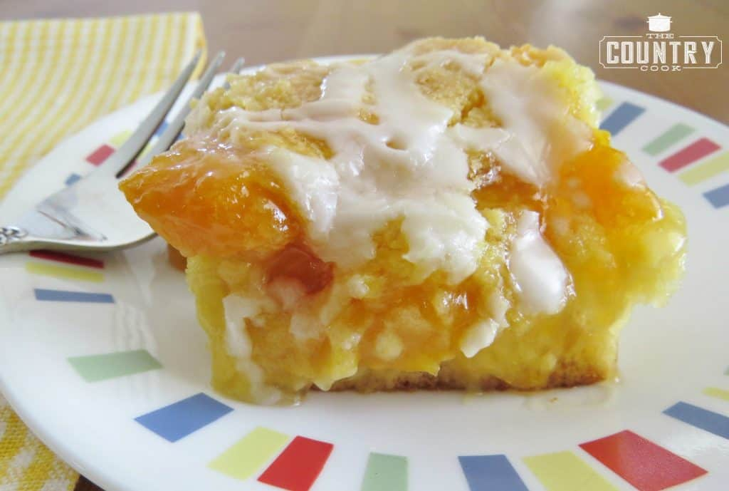 peach cobbler cake cobbler cake the country cook 6401