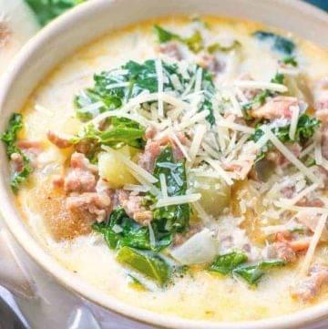 bowlful, Olive Garden Zuppa Toscan