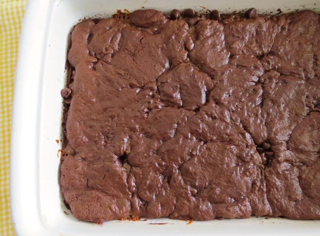 Gooey Chocolate Caramel Brownies