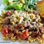 Easy Skillet Lasagna
