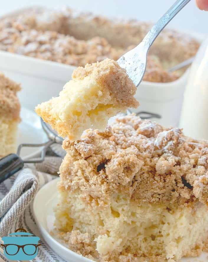 forkful, Double Crumb Cake