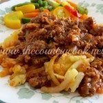 Crock Pot Sloppy Joe Casserole