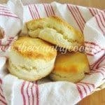 2-Ingredient Cream Biscuits