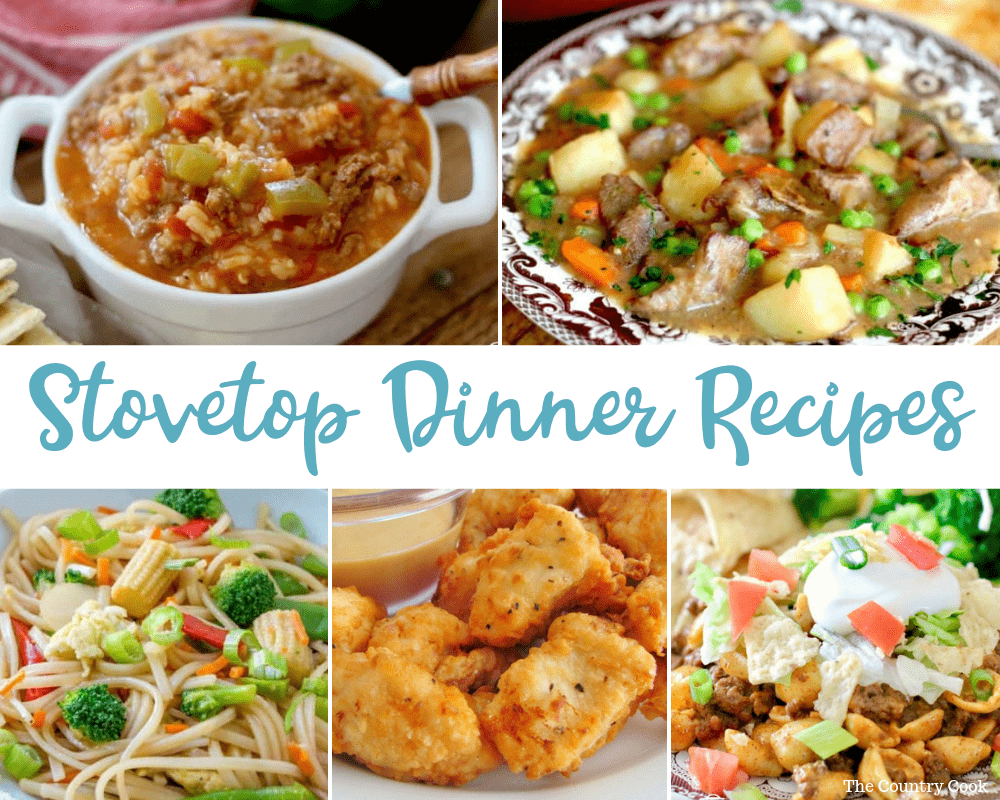 Deliciously Easy Stovetop Dinner Recipes