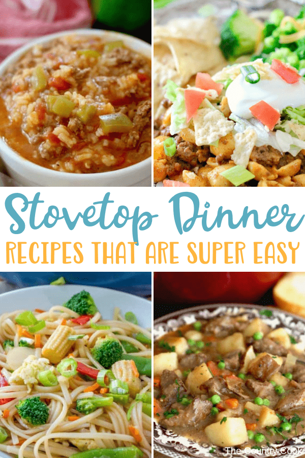 All the Best Easy Stovetop Dinner Recipes
