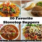 20 Favorite Stovetop Suppers