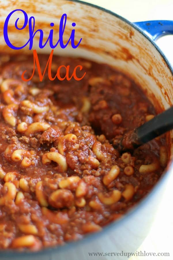 Easy One Pot Chili Mac recipe