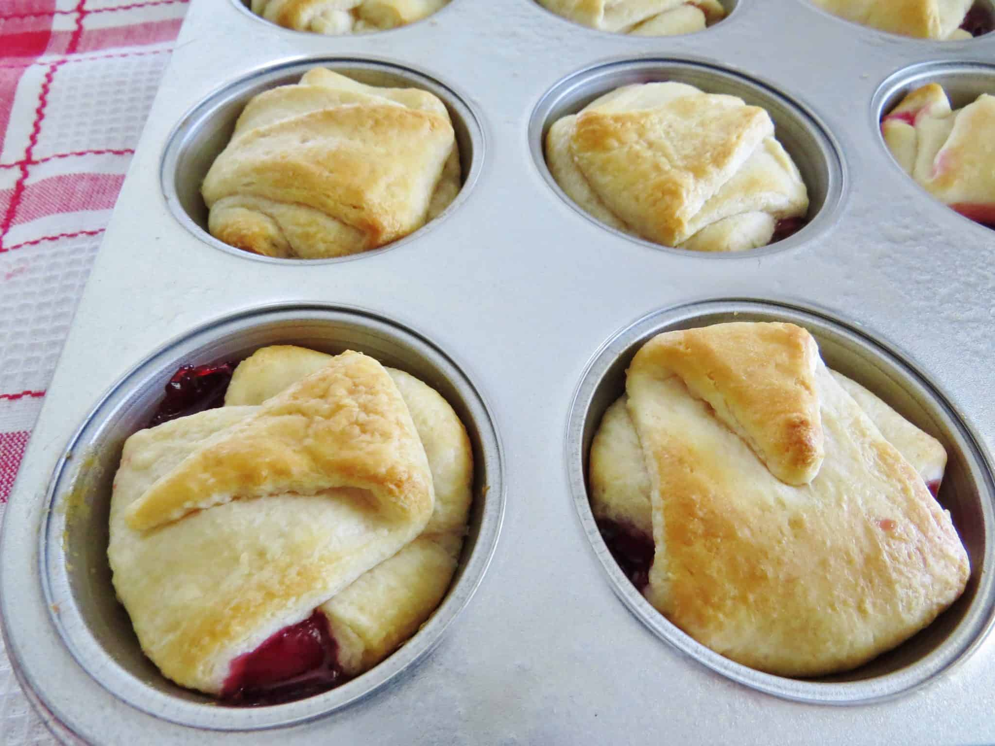Muffins Made With Cake Mix And Pie Filling