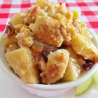 Rustic Apple Cobbler