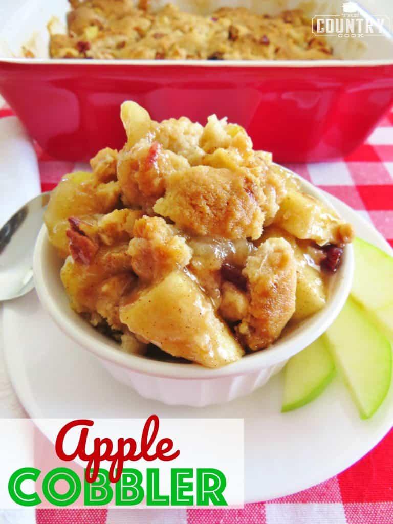 Muffin Mix Rustic Apple Cobbler
