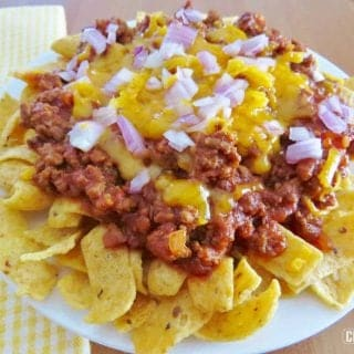 Frito Chili Pie (walking tacos)