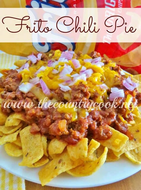 Frito Chili Pie The Country Cook