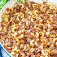 Easy Grandma's Goulash recipe