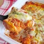 Bubble Up Lasagna
