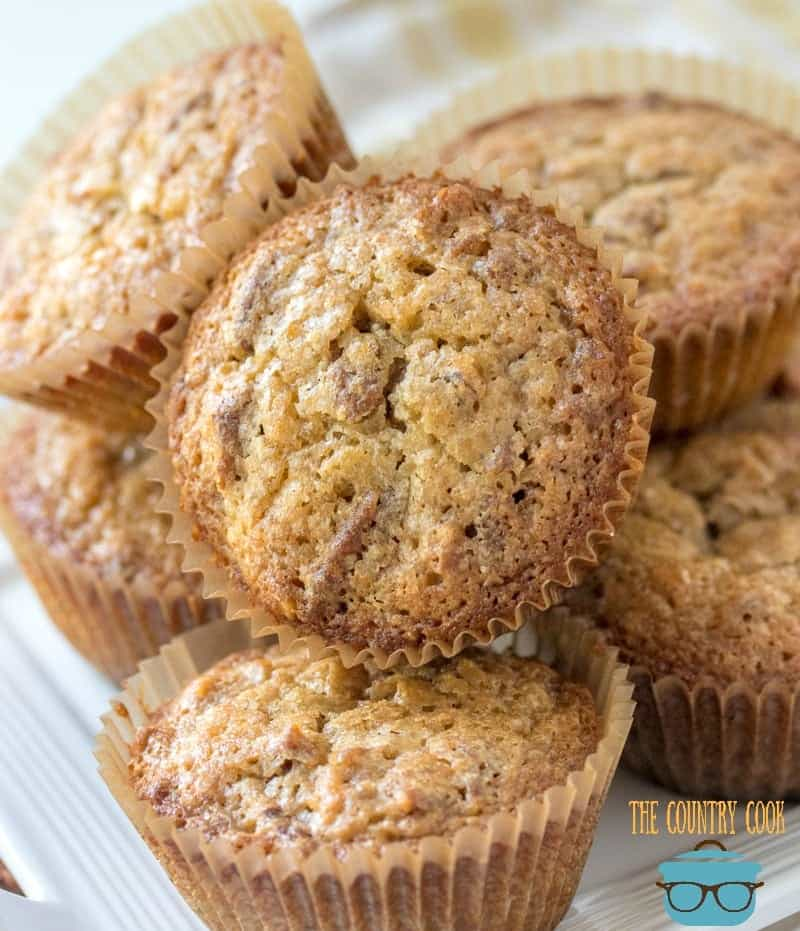 Easy Pecan Pie Muffins
