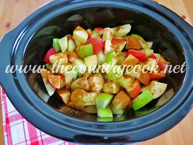 Crock Pot Applesauce - The Country Cook