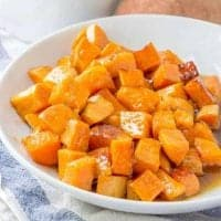 Honey Glazed Sweet Potatoes recipe