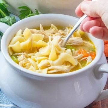 Easy One Pot Chicken Noodle Soup