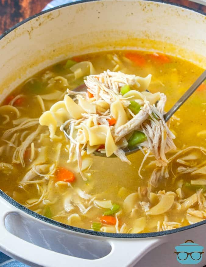 Ladleful, One Pot Chicken Noodle Soup recipe