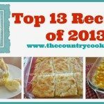 Top 13 Recipes of 2013
