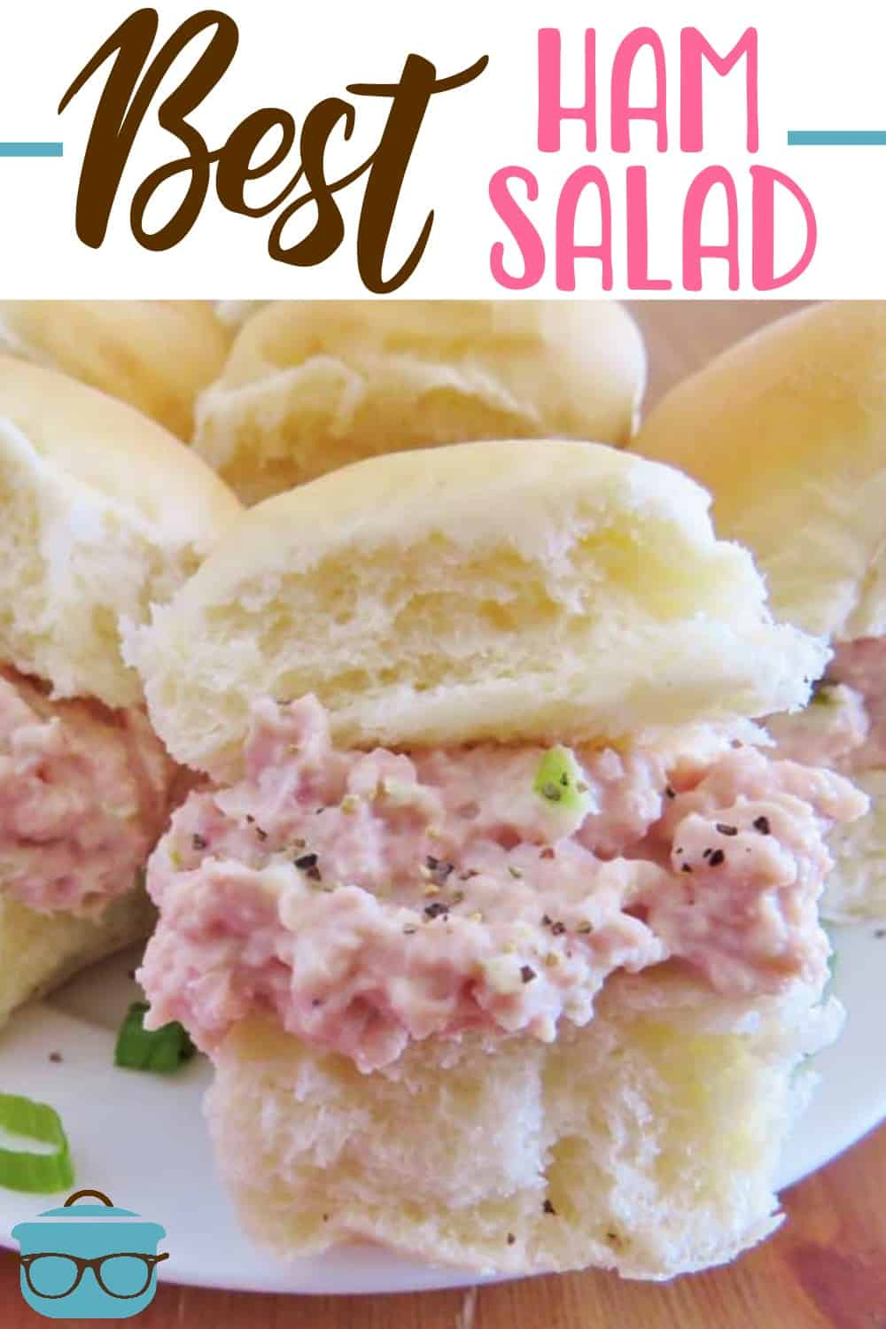 The best ham salad recipe only requires a food processor, mayonnaise, celery, onion and perfectly combined seasonings! This is the most requested ham salad recipe!