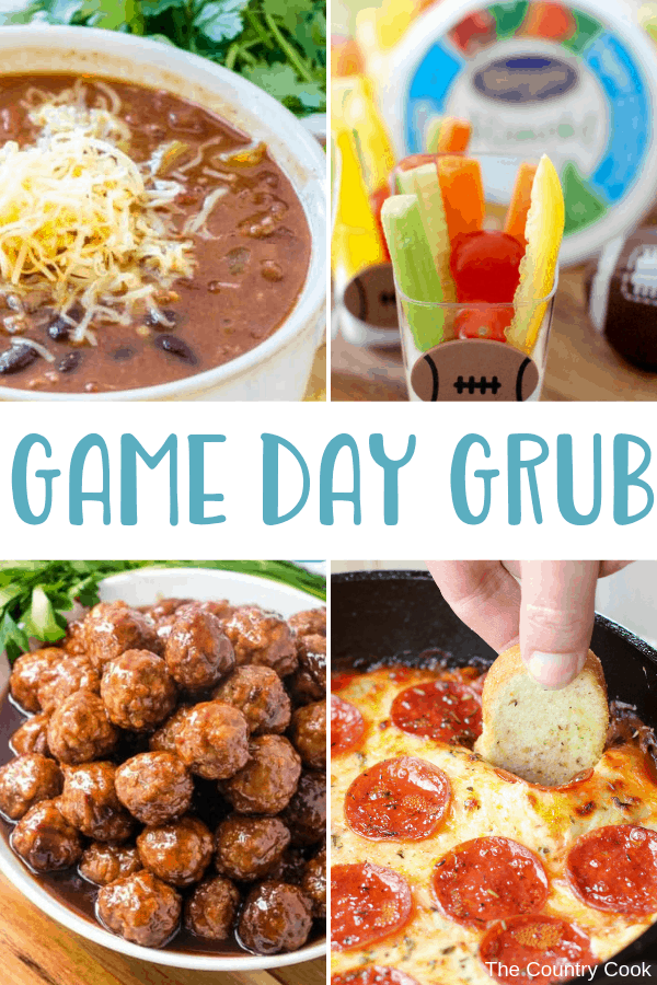 Game day is a little more fun when there is some food. All your favorite Game Day Grub in one spot.