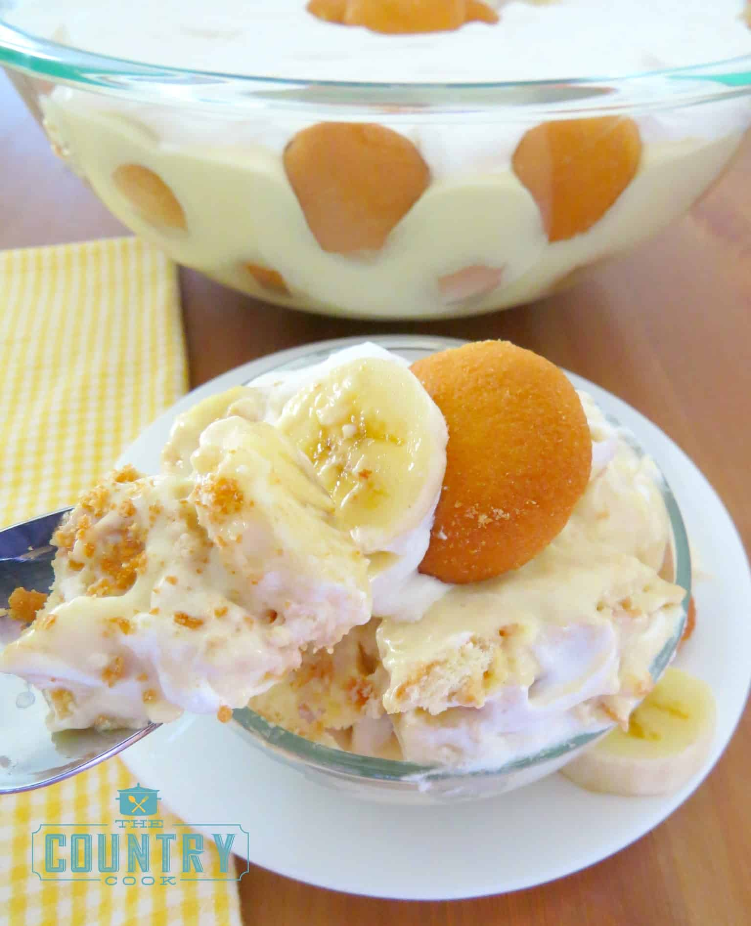 Picnic banana pudding the country cook picnic banana pudding forumfinder Image collections