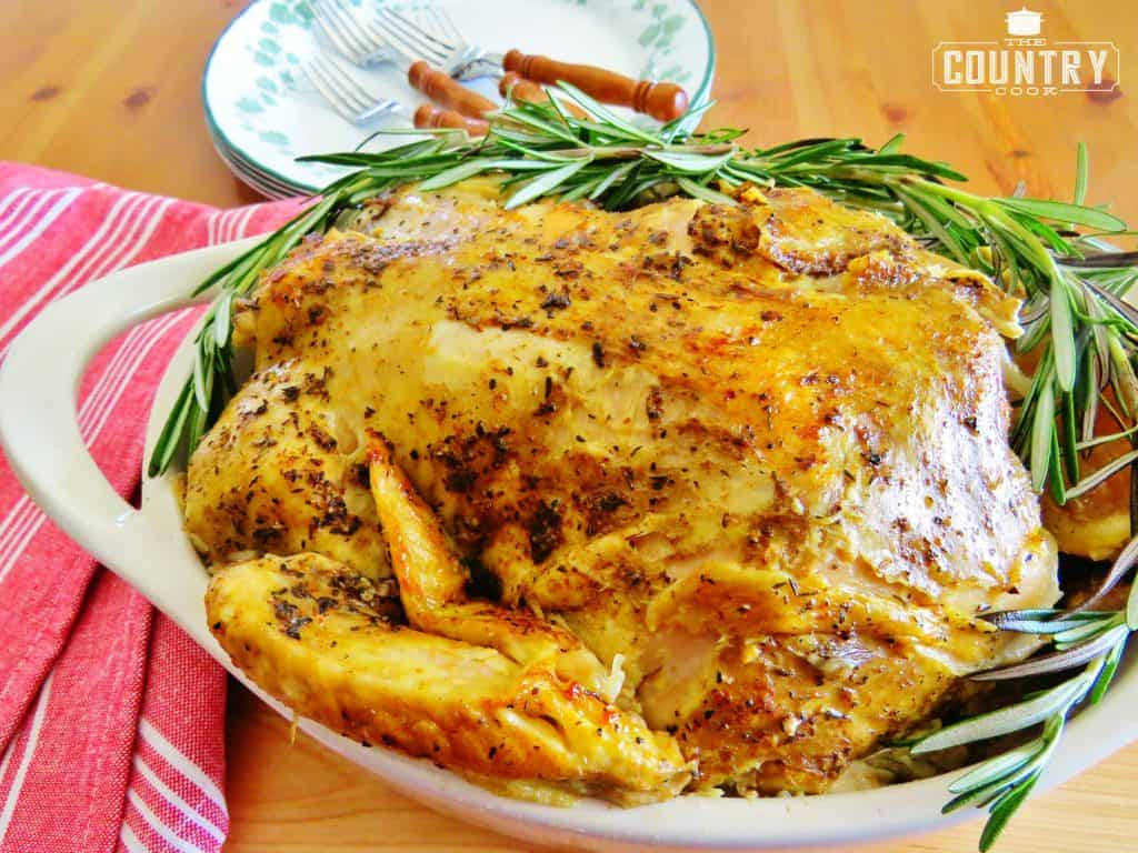 Crock Pot Whole Rotisserie Chicken