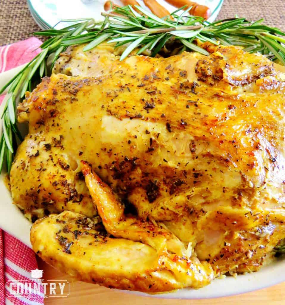 Crock Pot Whole Rotisserie Chicken