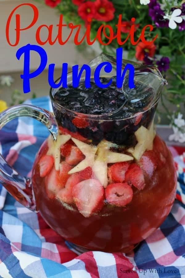 Patriotic Punch recipe