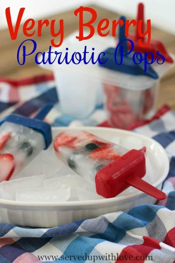 Very Berry Patriotic Pops recipe