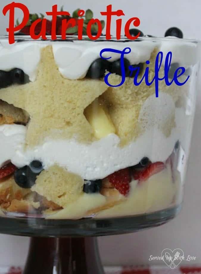 Patriotic Trifle Recipe