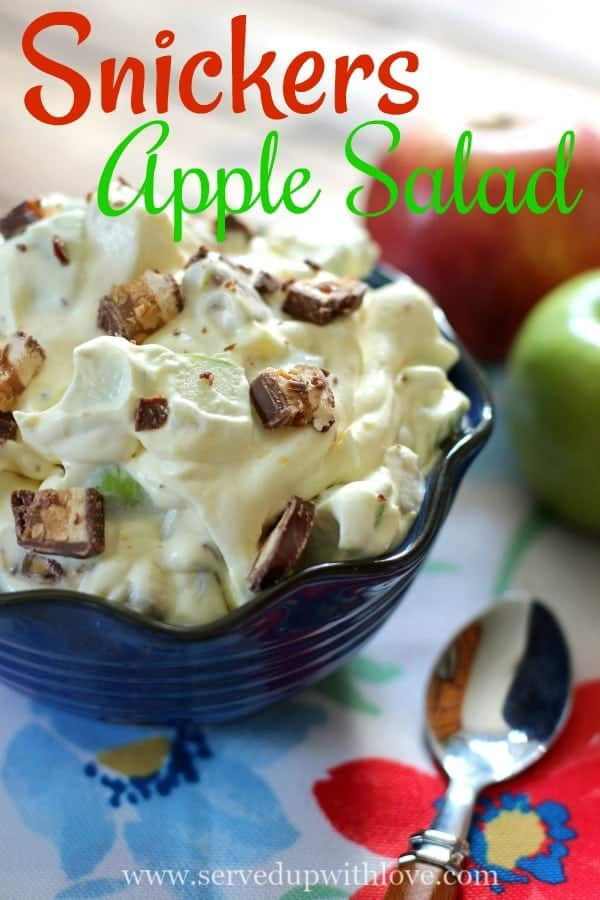 Snickers Apple Salad recipe