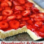 Strawberries & Cream Dessert Bars