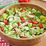Italian Chopped Salad with Grilled Chicken