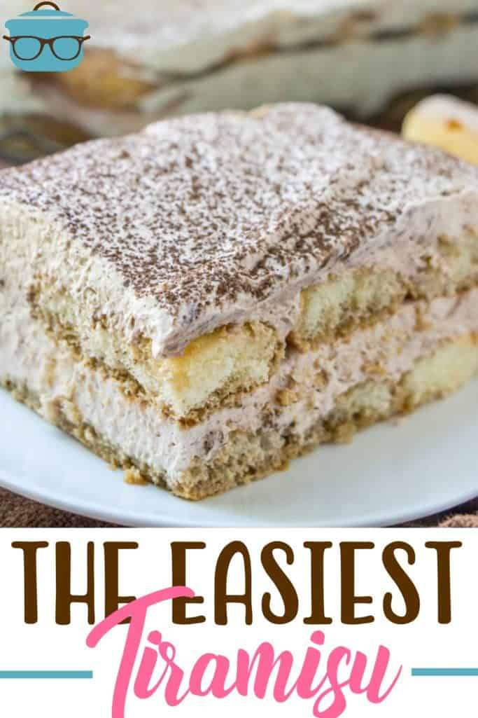 The Easiest Tiramisu recipe from The Country Cook