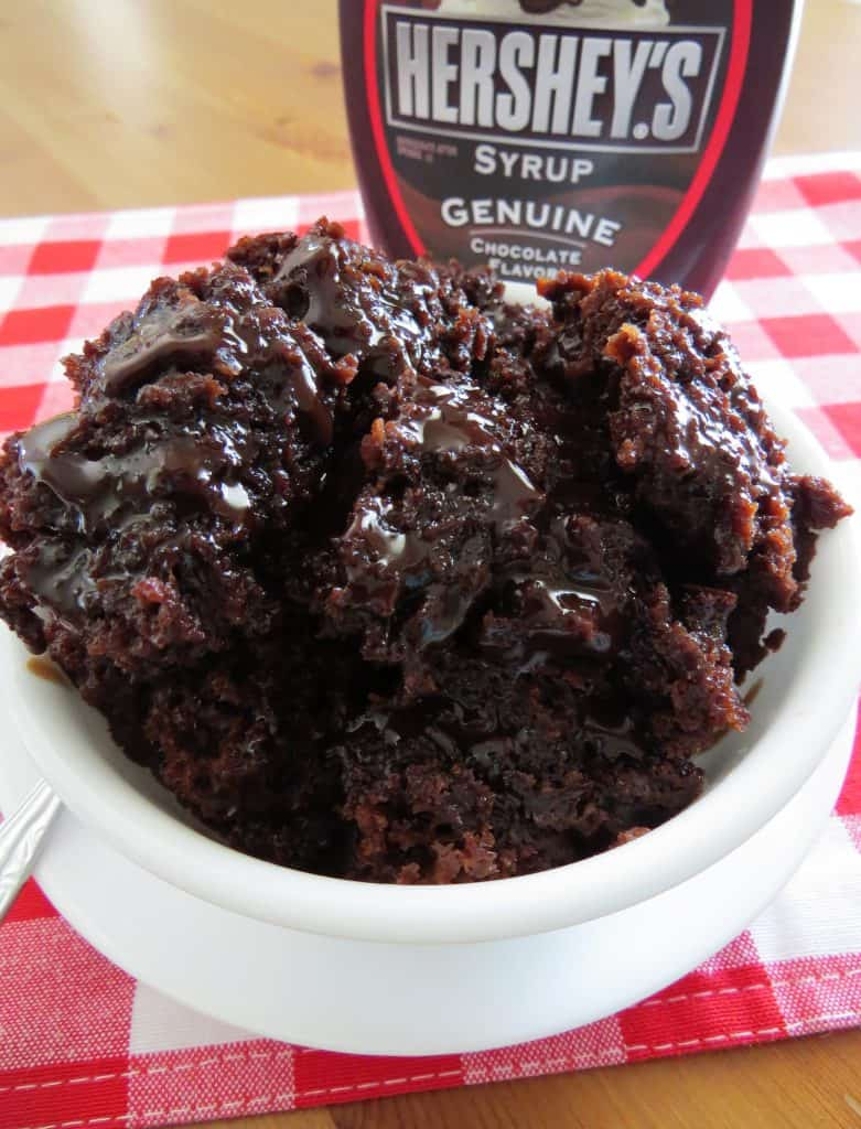 Crock Pot Chocolate Spoon Cake