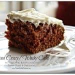 Spiced Wacky Cake