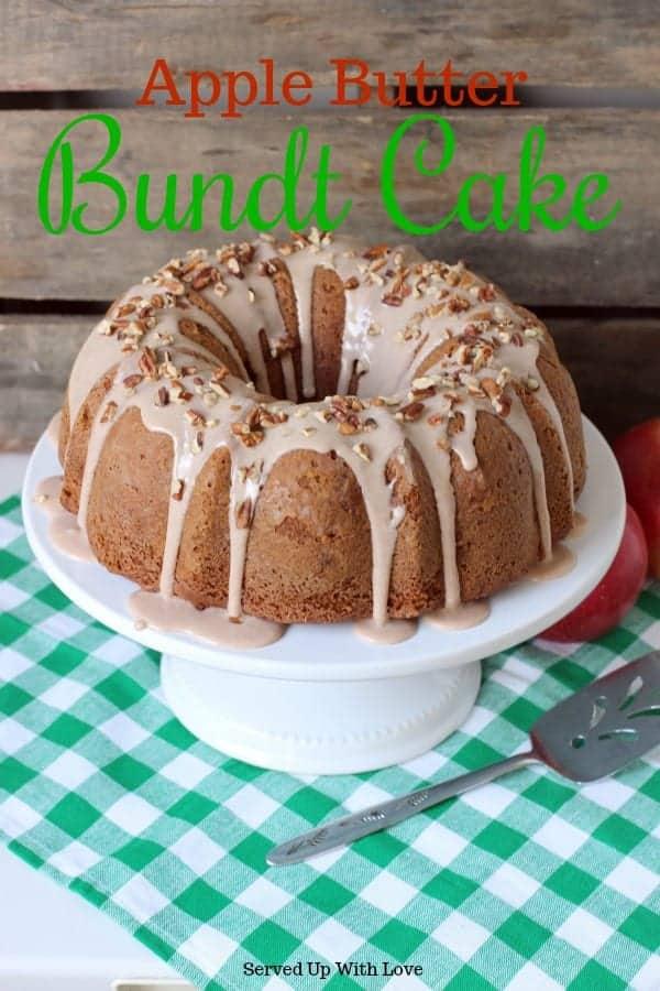 Apple Butter Bundt Cake recipe