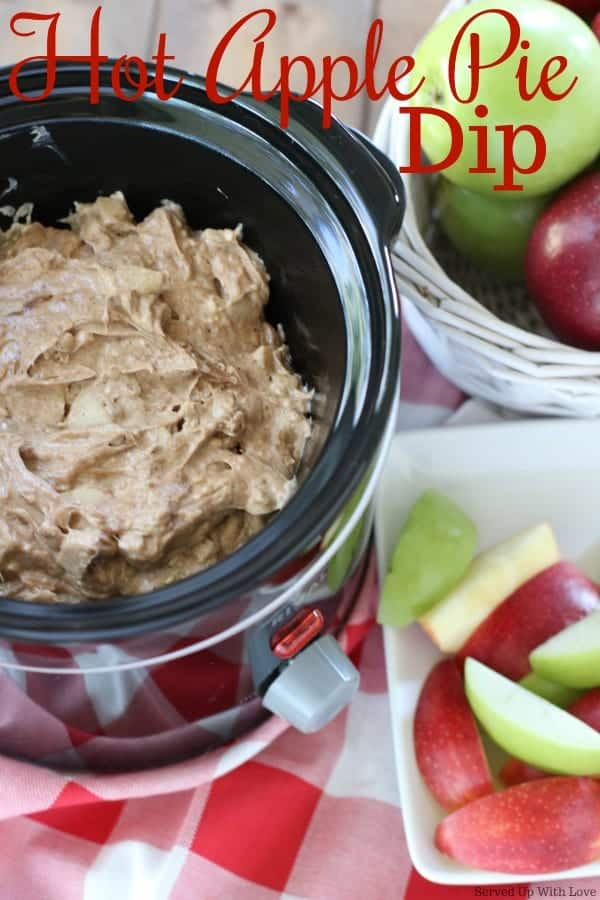 Crock Pot Hot Apple Dip recipe
