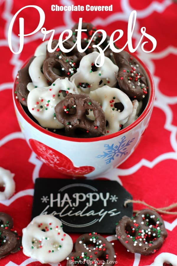 Chocolate Covered Pretzels recipe
