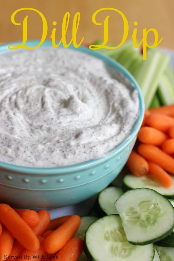Garden Fresh Dill Dip recipe