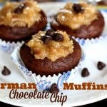 German Chocolate Chip Muffins