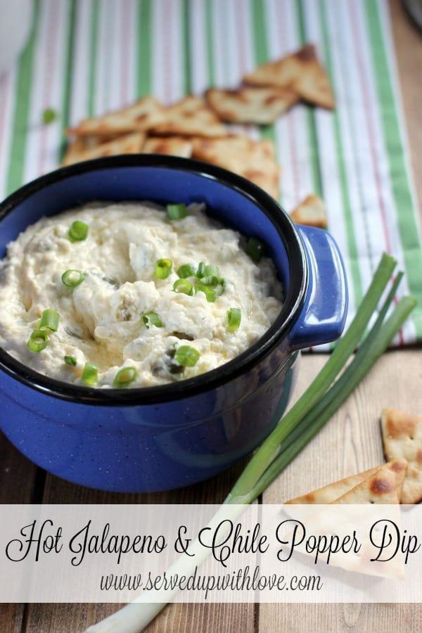 Crock Pot Hot Jalapeno & Chile Popper Dip recipe