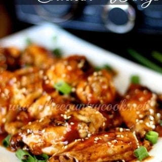 Crock pot chicken wings