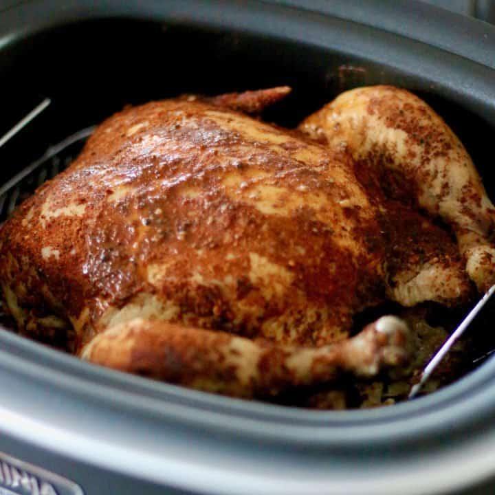 Crock Pot Whole BBQ Chicken recipe