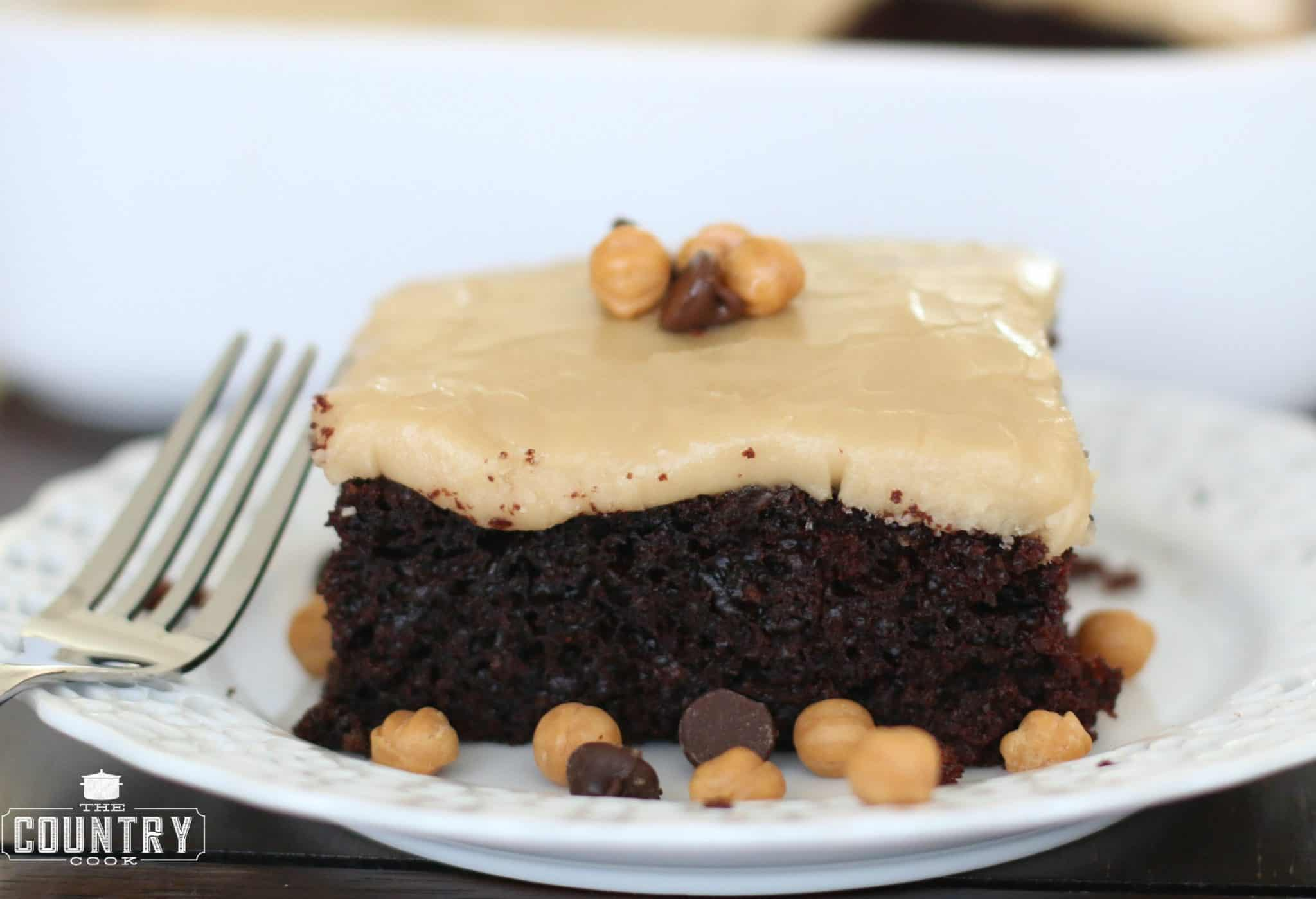 Chocolate Mayonnaise Cake with Brown Sugar Frosting - The ...